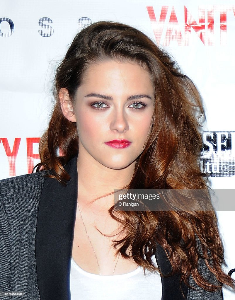 Actress Kristen Stewart attends the 'On the Road' Vanity Fair Screening presented by Hugo Boss at Skywalker Ranch on December 7, 2012 in San Francisco, California.