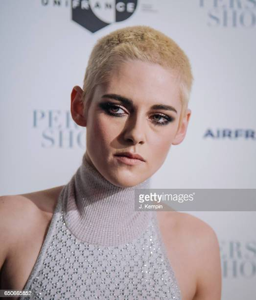 Actress Kristen Stewart attends the 'Personal Shopper' New York Premiere at Metrograph on March 9 2017 in New York City