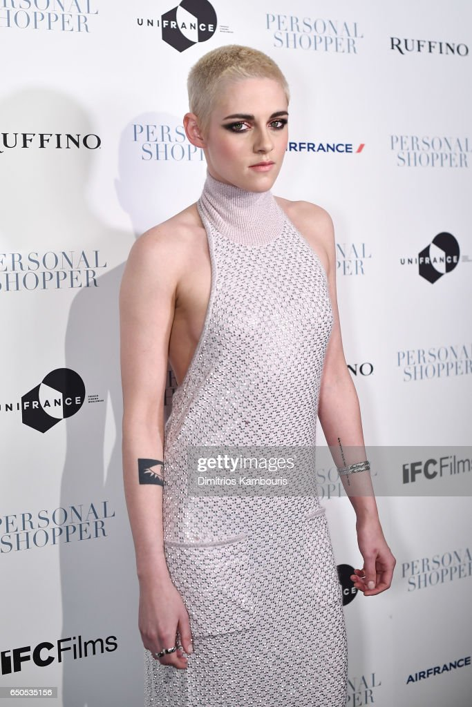 Actress Kristen Stewart attends the 'Personal Shopper' premiere at Metrograph on March 9, 2017 in New York City.
