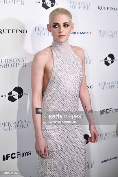 Actress Kristen Stewart attends the 'Personal Shopper' premiere at Metrograph on March 9 2017 in New York City