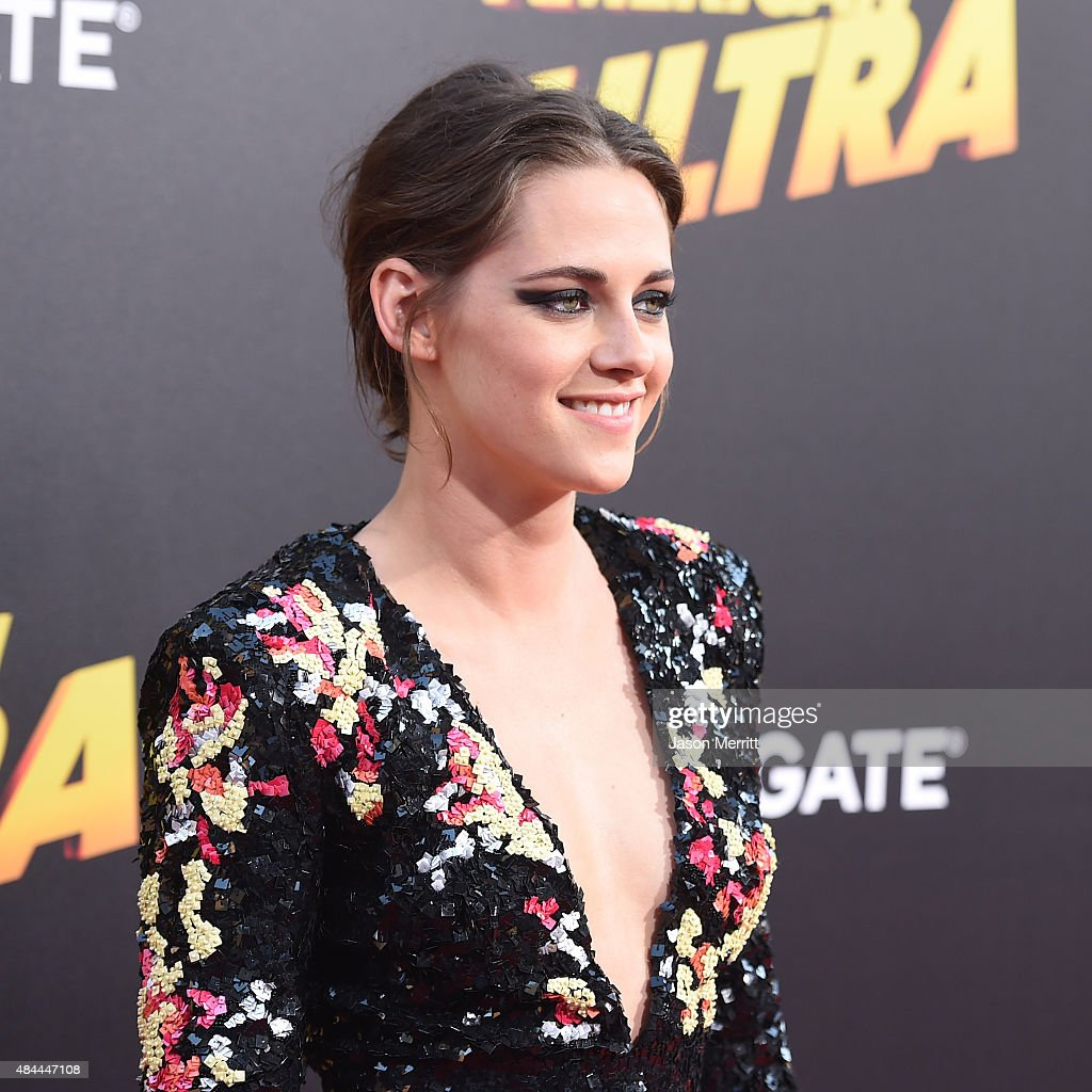 Actress Kristen Stewart attends the premiere of Lionsgate's 'American Ultra' at Ace Theater Downtown LA on August 18, 2015 in Los Angeles, California.