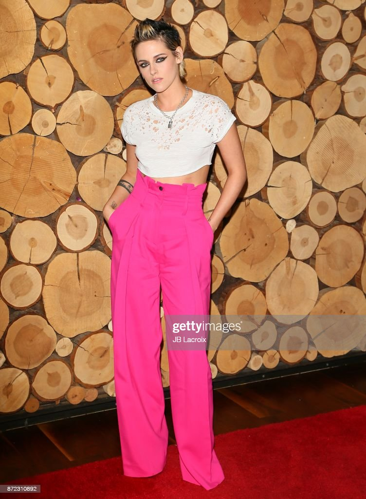 Actress Kristen Stewart attends the premiere of Starlight Studios and Refinery29's 'Come Swim' on November 9, 2017 in Los Angeles, California.