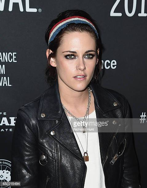 Actress Kristen Stewart attends the Short program 1 during day 1 of the 2017 Sundance Film Festival at Prospector Square on January 19 2017 in Park...