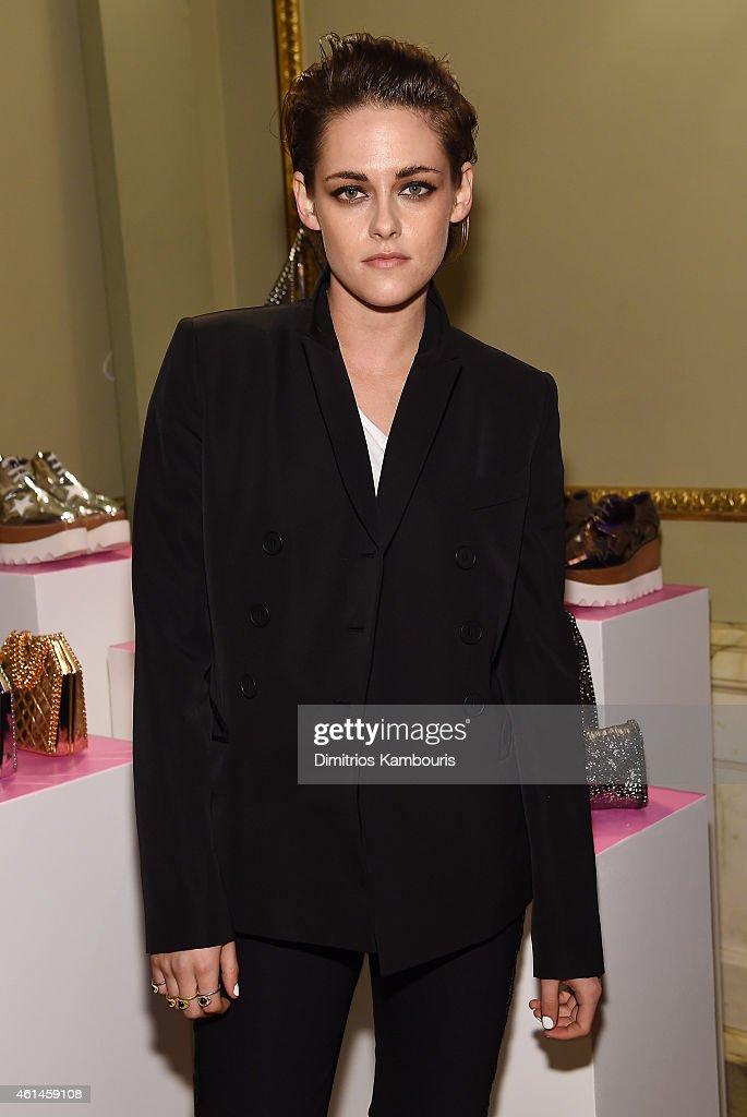 Actress Kristen Stewart attends the Stella McCartney Autumn 2015 presentation on January 12, 2015 in New York City.