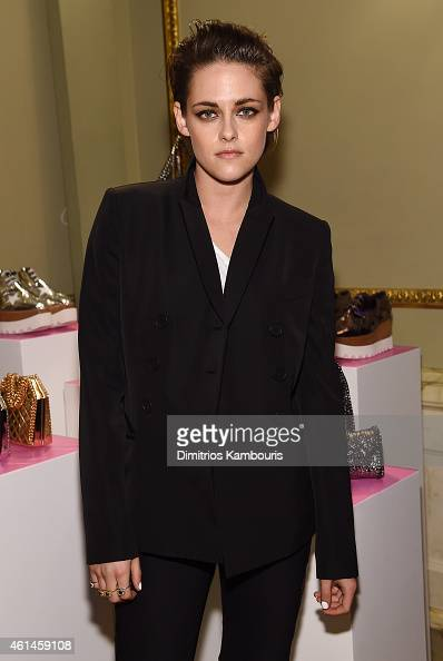Actress Kristen Stewart attends the Stella McCartney Autumn 2015 presentation on January 12 2015 in New York City