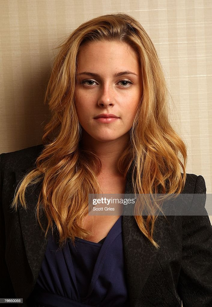 Actress <a gi-track='captionPersonalityLinkClicked' href=/galleries/search?phrase=Kristen+Stewart&family=editorial&specificpeople=2166264 ng-click='$event.stopPropagation()'>Kristen Stewart</a> from the film 'Into the Wild' poses for a portrait in the Chanel Celebrity Suite at the Four Season hotel during the Toronto International Film Festival 2007 on September 9, 2007 in Toronto, Canada.