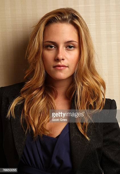 ACCESS*** Actress Kristen Stewart from the film 'Into the Wild' poses for a portrait in the Chanel Celebrity Suite at the Four Season hotel during...