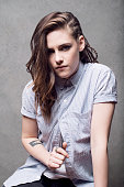 Actress Kristen Stewart is photographed at the Sundance Film Festival 2014 for Self Assignment on January 25 2014 in Park City Utah