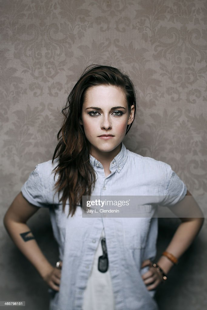 Actress <a gi-track='captionPersonalityLinkClicked' href=/galleries/search?phrase=Kristen+Stewart&family=editorial&specificpeople=2166264 ng-click='$event.stopPropagation()'>Kristen Stewart</a> is photographed for Los Angeles Times on January 18, 2014 in Park City, Utah. PUBLISHED IMAGE.