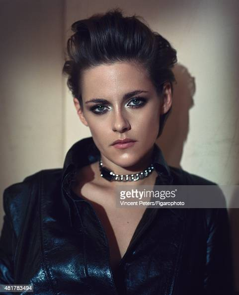 Actress Kristen Stewart is photographed for Madame Figaro on February 18 2015 in Paris France Jacket Première Rock watch Makeup by Chanel PUBLISHED...