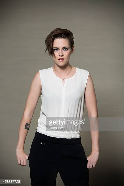 Actress Kristen Stewart is photographed for USA Today on October 8 2014 in New York City PUBLISHED IMAGE