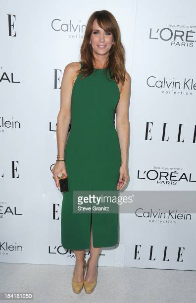 Actress Kristen Wiig arrives at ELLE's 19th Annual Women In Hollywood Celebration at the Four Seasons Hotel on October 15 2012 in Beverly Hills...