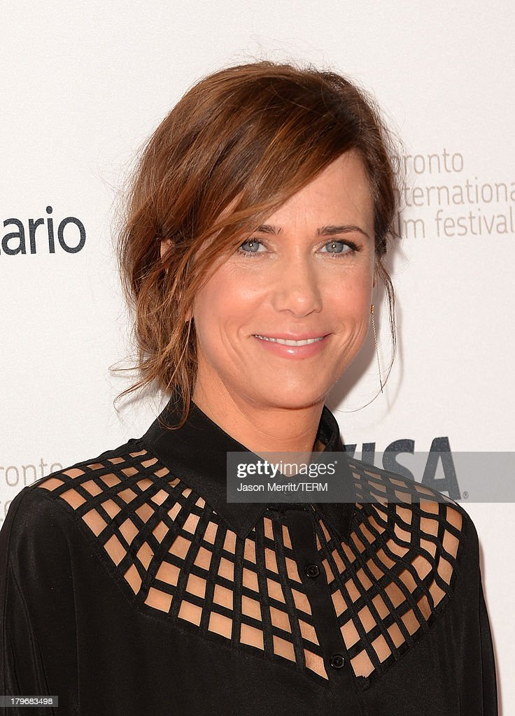 Actress Kristen Wiig arrives at 'Hateship Loveship' Premiere during the 2013 Toronto International Film Festival at Princess of Wales Theatre on September 6, 2013 in Toronto, Canada.