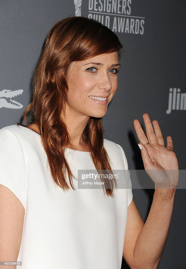 Actress Kristen Wiig arrives at the 15th Annual Costume Designers Guild Awards at The Beverly Hilton Hotel on February 19, 2013 in Beverly Hills, California.