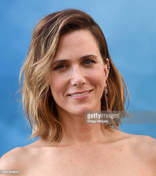 Actress Kristen Wiig arrives at the premiere of Sony Pictures' 'Ghostbusters' at TCL Chinese Theatre on July 9 2016 in Hollywood California