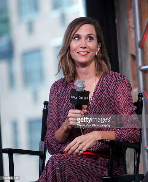 Actress Kristen Wiig attends AOL Build Speaker Series 'Ghostbusters' at AOL HQ on July 12 2016 in New York City
