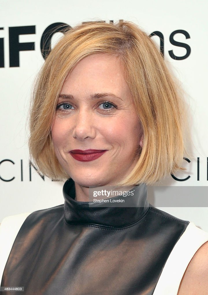 Actress Kristen Wiig attends IFC Films' 'Hateship Loveship' screening hosted by The Cinema Society and Montblanc at the Museum of Modern Art on April 8, 2014 in New York City.