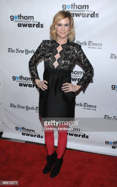 Actress Kristen Wiig attends IFP's 19th Annual Gotham Independent Film Awards at Cipriani Wall Street on November 30 2009 in New York City