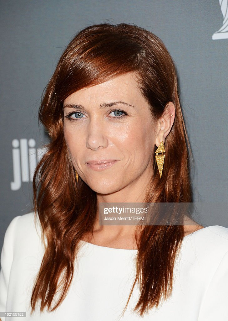 Actress Kristen Wiig attends the 15th Annual Costume Designers Guild Awards with presenting sponsor Lacoste at The Beverly Hilton Hotel on February 19, 2013 in Beverly Hills, California.