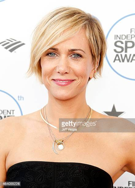 Actress Kristen Wiig attends the 2015 Film Independent Spirit Awards at Santa Monica Beach on February 21 2015 in Santa Monica California