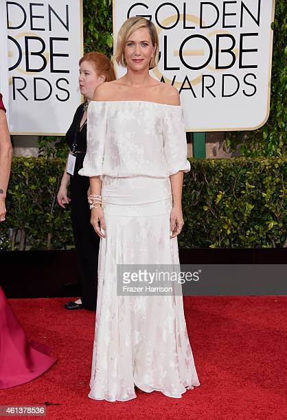 Actress Kristen Wiig attends the 72nd Annual Golden Globe Awards at The Beverly Hilton Hotel on January 11 2015 in Beverly Hills California