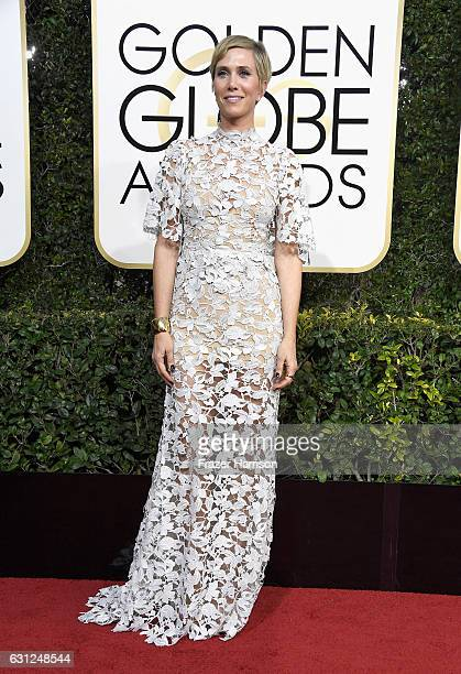 Actress Kristen Wiig attends the 74th Annual Golden Globe Awards at The Beverly Hilton Hotel on January 8 2017 in Beverly Hills California