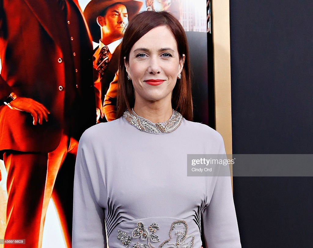 Actress <a gi-track='captionPersonalityLinkClicked' href=/galleries/search?phrase=Kristen+Wiig&family=editorial&specificpeople=4029391 ng-click='$event.stopPropagation()'>Kristen Wiig</a> attends the Anchorman 2: The Legend Continues Premiere, Sponsored by Buffalo David Bitton on December 15, 2013 in New York City.
