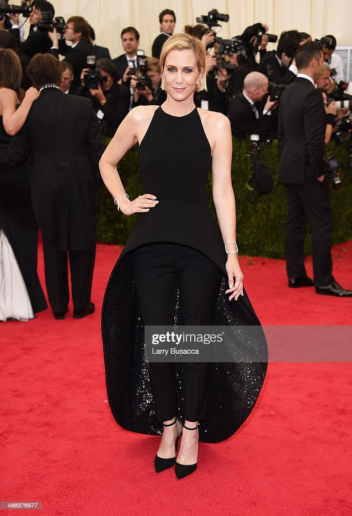 Actress Kristen Wiig attends the 'Charles James: Beyond Fashion' Costume Institute Gala at the Metropolitan Museum of Art on May 5, 2014 in New York City.