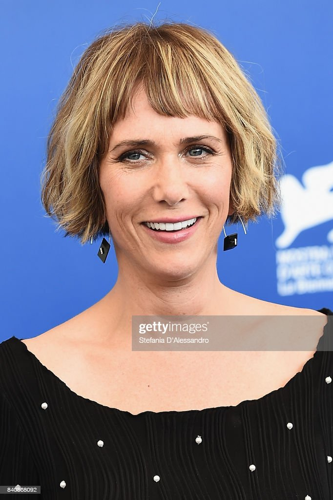 Actress Kristen Wiig attends the 'Downsizing' photocall during the 74th Venice Film Festival on August 30, 2017 in Venice, Italy.