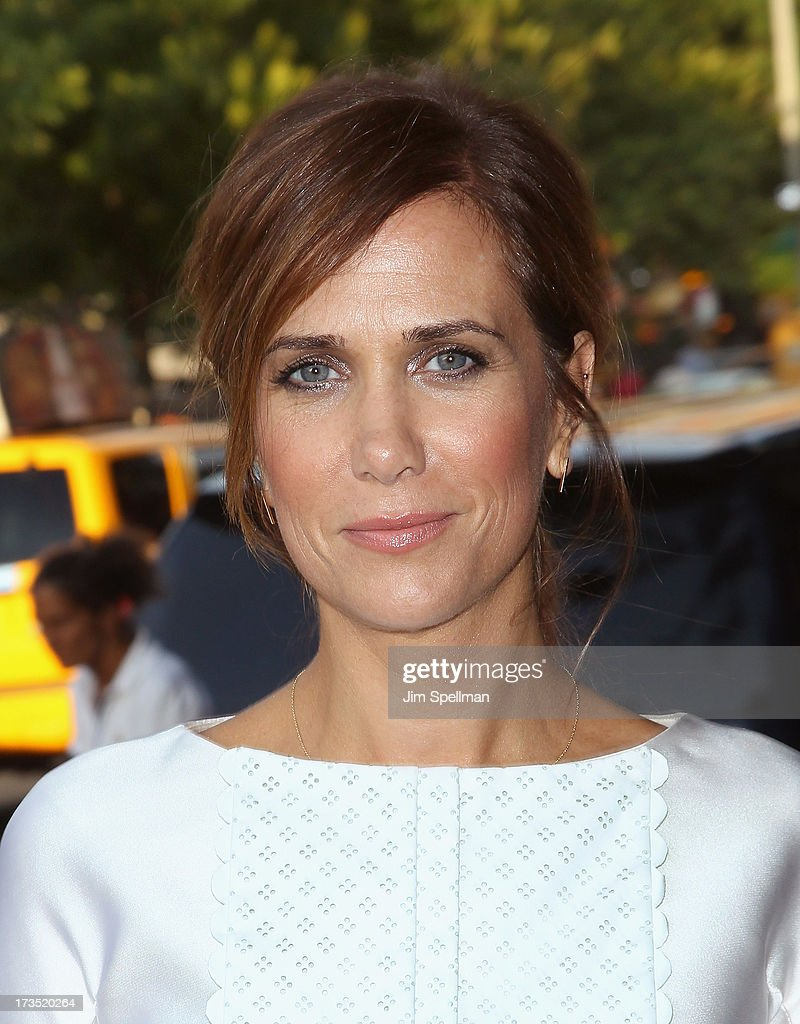 Actress <a gi-track='captionPersonalityLinkClicked' href=/galleries/search?phrase=Kristen+Wiig&family=editorial&specificpeople=4029391 ng-click='$event.stopPropagation()'>Kristen Wiig</a> attends the Lionsgate And Roadside Attractions With The Cinema Society Screening Of 'Girl Most Likely' at Landmark's Sunshine Cinema on July 15, 2013 in New York City.
