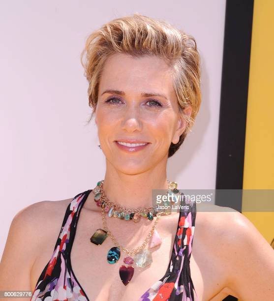 Actress Kristen Wiig attends the premiere of 'Despicable Me 3' at The Shrine Auditorium on June 24 2017 in Los Angeles California