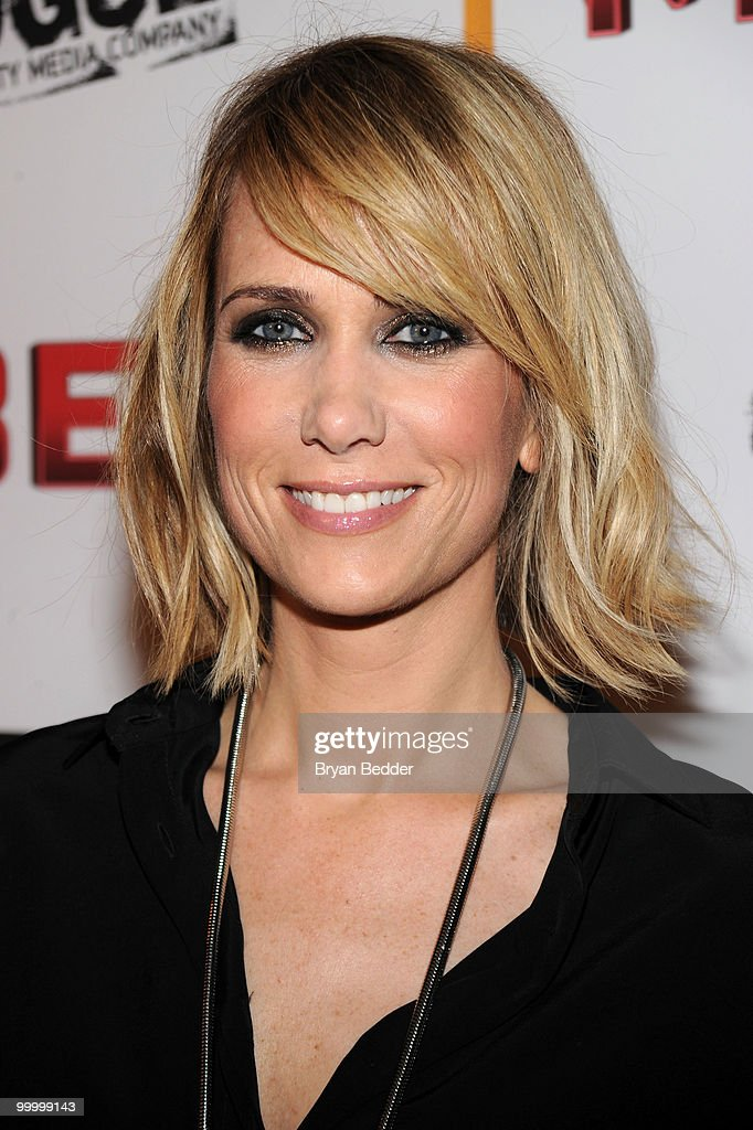 Actress Kristen Wiig attends the premiere of 'MacGruber' at Landmark's Sunshine Cinema on May 19, 2010 in New York City.