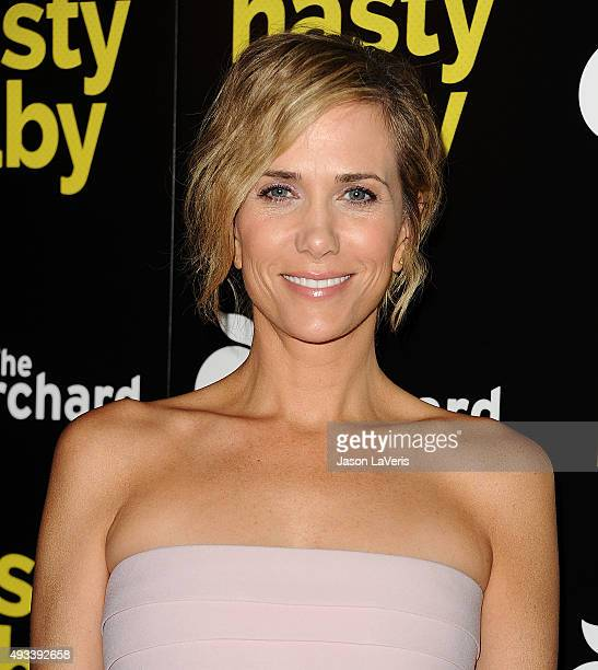 Actress Kristen Wiig attends the premiere of 'Nasty Baby' at ArcLight Cinemas on October 19 2015 in Hollywood California