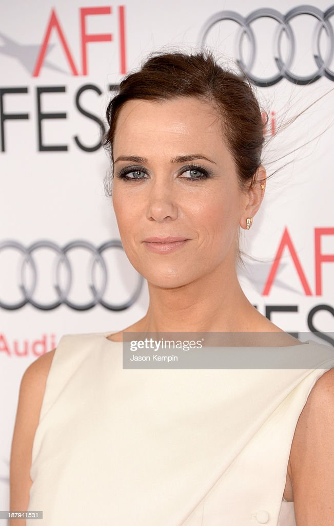 Actress Kristen Wiig attends the premiere of 'The Secret Life of Walter Mitty' during AFI FEST 2013 presented by Audi at TCL Chinese Theatre on November 13, 2013 in Hollywood, California.