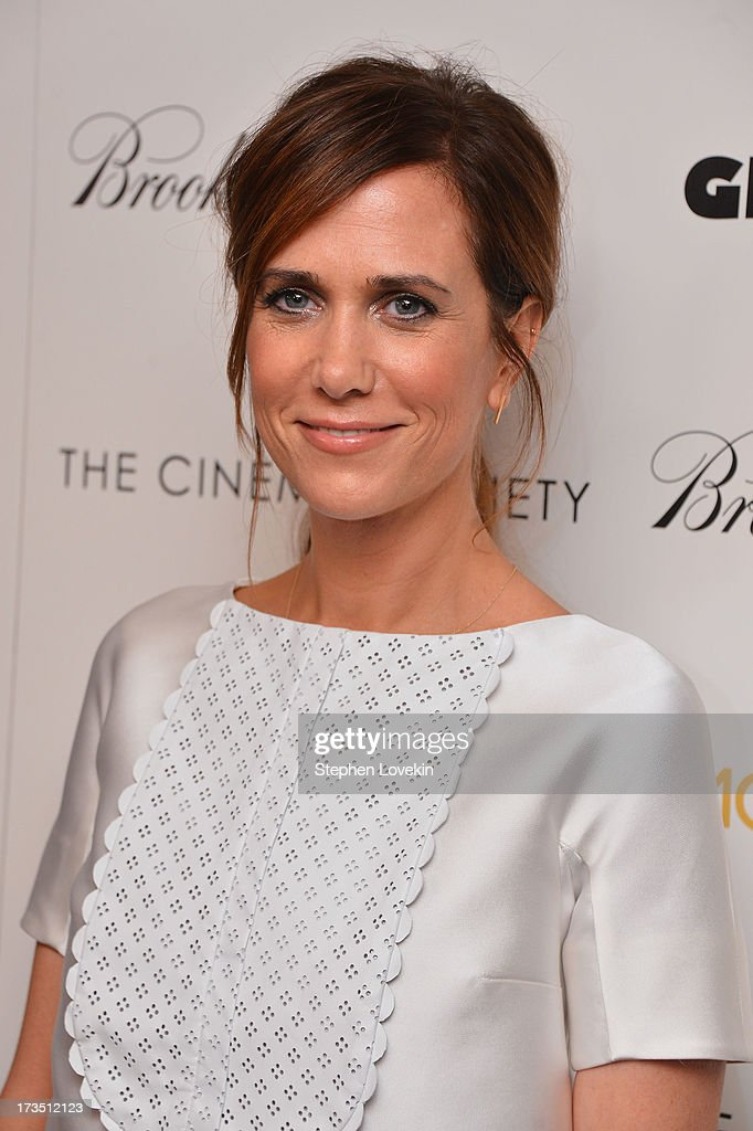 Actress Kristen Wiig attends the screening of Lionsgate and Roadside Attractions' 'Girl Most Likely' hosted by The Cinema Society & Brooks Brothers at Landmark's Sunshine Cinema on July 15, 2013 in New York City.