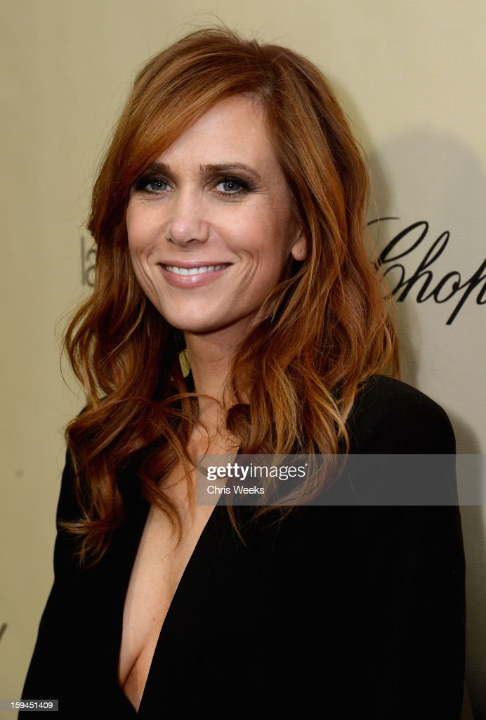 Actress Kristen Wiig attends The Weinstein Company's 2013 Golden Globe Awards after party presented by Chopard, HP, Laura Mercier, Lexus, Marie Claire, and Yucaipa Films held at The Old Trader Vic's at The Beverly Hilton Hotel on January 13, 2013 in Beverly Hills, California.