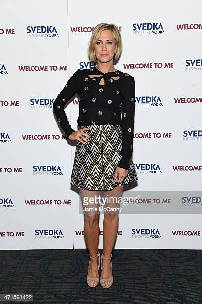 Actress Kristen Wiig attends the 'Welcome To Me' New York Premiere at the Sunshine Landmark on April 29 2015 in New York City