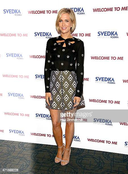 Actress Kristen Wiig attends the 'Welcome To Me' New York Premiere at Sunshine Landmark on April 29 2015 in New York City