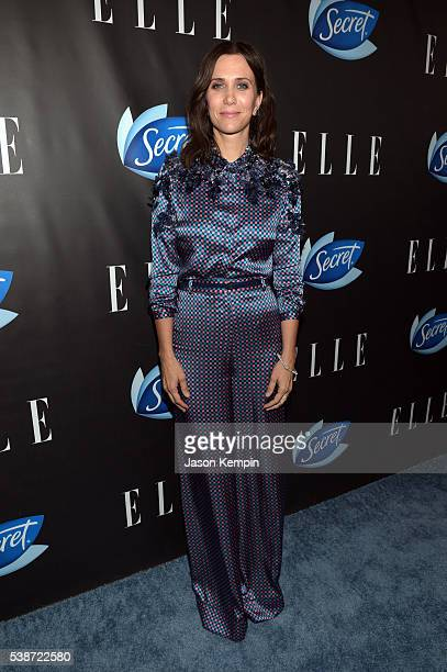 Actress Kristen Wiig attends the Women In Comedy event with July cover stars Leslie Jones Melissa McCarthy Kate McKinnon and Kristen Wiig hosted by...