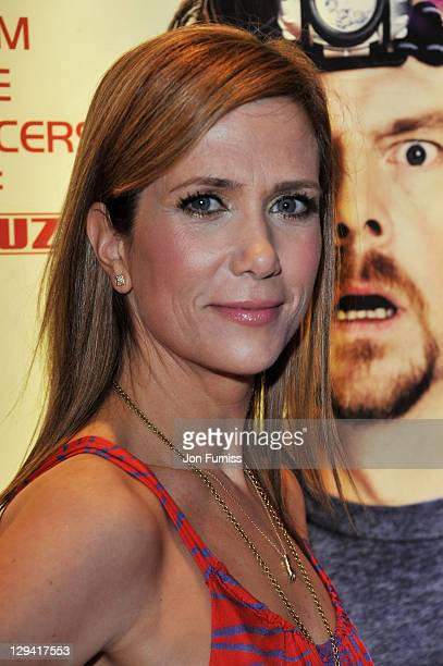 Actress Kristen Wiig attends the world premiere of 'Paul' at The Empire Cinema on February 7 2011 in London England