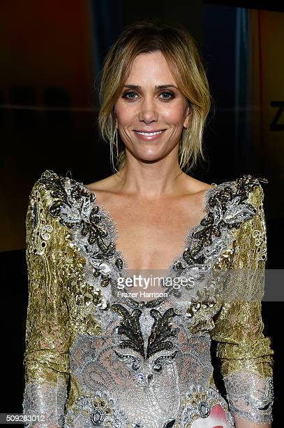 Actress Kristen Wiig attends the 'Zoolander No 2' World Premiere at Alice Tully Hall on February 9 2016 in New York City