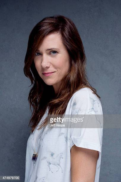 Actress Kristen Wiig is photographed at the Toronto Film Festival on September 10 2013 in Toronto Ontario