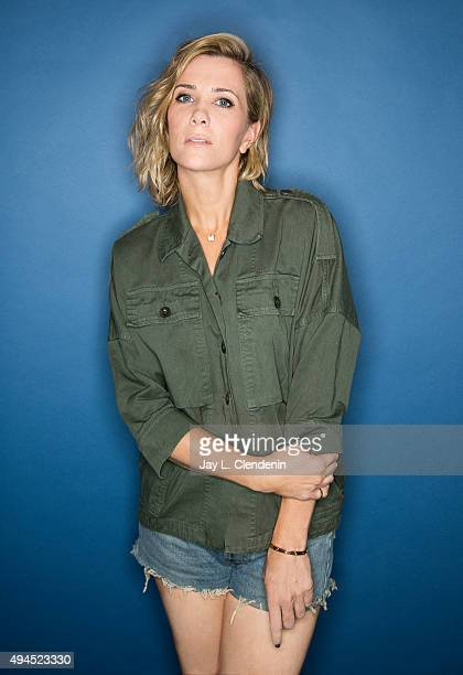 Actress Kristen Wiig is photographed for Los Angeles Times on October 9 2015 in Los Angeles California PUBLISHED IMAGE CREDIT MUST READ Jay L...