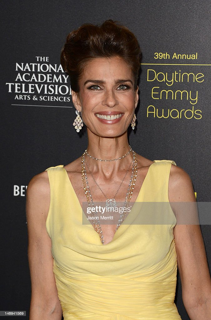 Actress Kristian Alfonso arrives at The 39th Annual Daytime Emmy Awards broadcasted on HLN held at The Beverly Hilton Hotel on June 23, 2012 in Beverly Hills, California. (Photo by Jason Merritt/WireImage) 22542_002_JM_2222.JPG