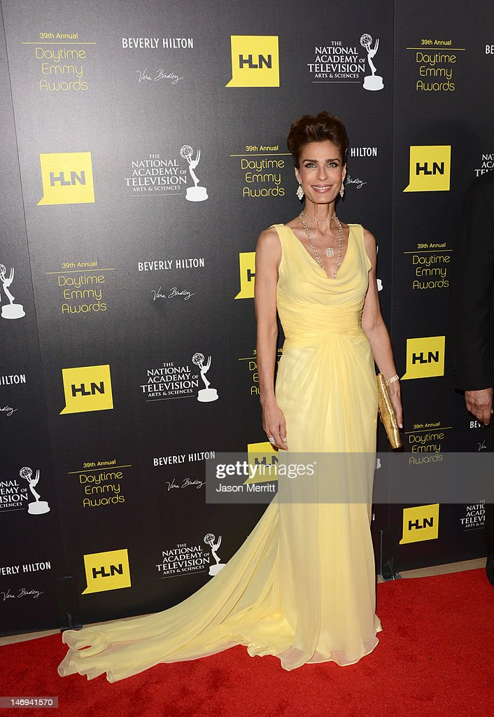 Actress Kristian Alfonso arrives at The 39th Annual Daytime Emmy Awards broadcasted on HLN held at The Beverly Hilton Hotel on June 23, 2012 in Beverly Hills, California. (Photo by Jason Merritt/WireImage) 22542_002_JM_2230.JPG
