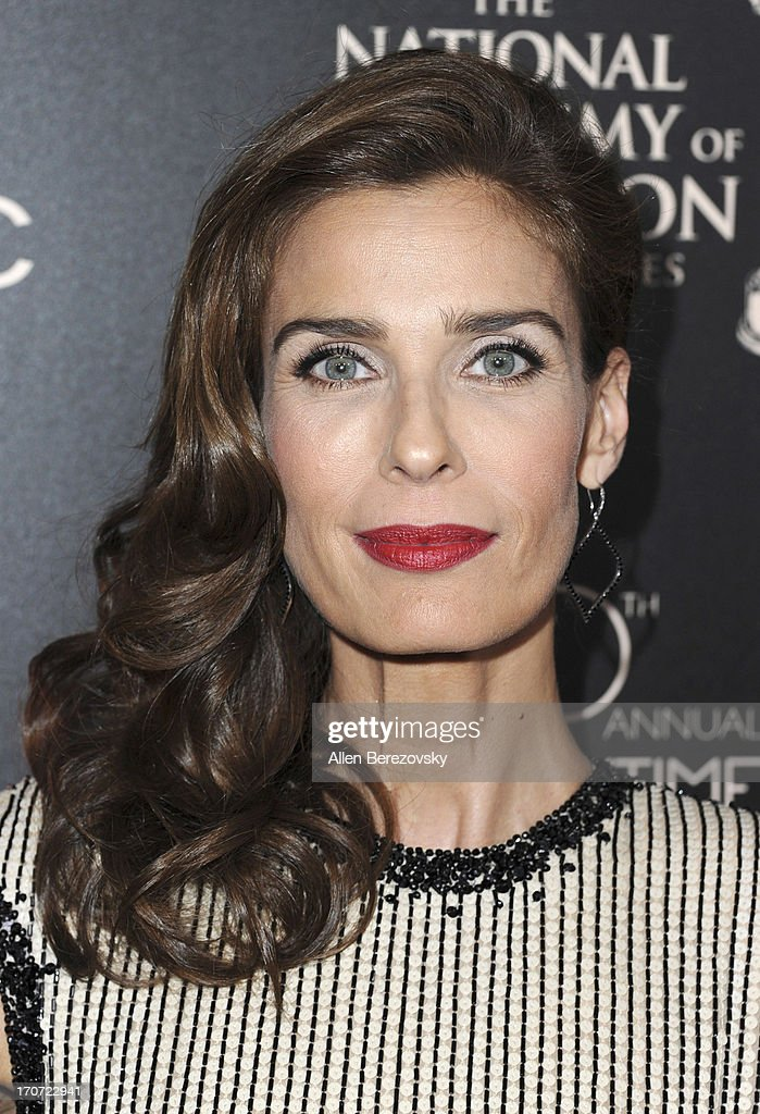 Actress <a gi-track='captionPersonalityLinkClicked' href=/galleries/search?phrase=Kristian+Alfonso&family=editorial&specificpeople=238843 ng-click='$event.stopPropagation()'>Kristian Alfonso</a> attends 40th Annual Daytime Entertaimment Emmy Awards - Arrivals at The Beverly Hilton Hotel on June 16, 2013 in Beverly Hills, California.