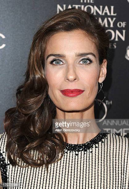 Actress Kristian Alfonso attends 40th Annual Daytime Entertaimment Emmy Awards Arrivals at The Beverly Hilton Hotel on June 16 2013 in Beverly Hills...