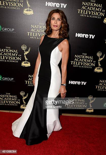 Actress Kristian Alfonso attends The 41st Annual Daytime Emmy Awards at The Beverly Hilton Hotel on June 22 2014 in Beverly Hills California