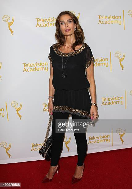 Actress Kristian Alfonso attends the Daytime Emmy Nominee Reception at The London West Hollywood on June 19 2014 in West Hollywood California