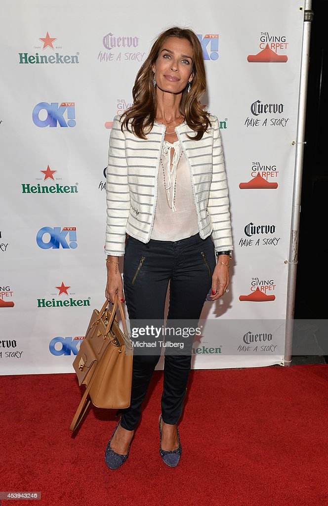 Actress <a gi-track='captionPersonalityLinkClicked' href=/galleries/search?phrase=Kristian+Alfonso&family=editorial&specificpeople=238843 ng-click='$event.stopPropagation()'>Kristian Alfonso</a> attends the OK! TV Awards Party at Sofitel Hotel on August 21, 2014 in Los Angeles, California.